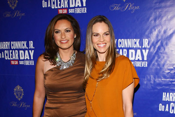 """Mariska Hargitay Hilary Swank """"On A Clear Day You Can See Forever"""" Broadway Opening Night - Arrivals & Curtain Call"""