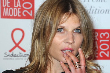 Clemence Poesy Sidaction Gala Dinner 2013 - Photocall