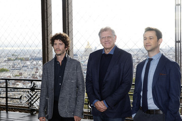 Clement Sibony 'The Walk' : Rever Plus Haut : Paris Photocall at the Eiffel Tower