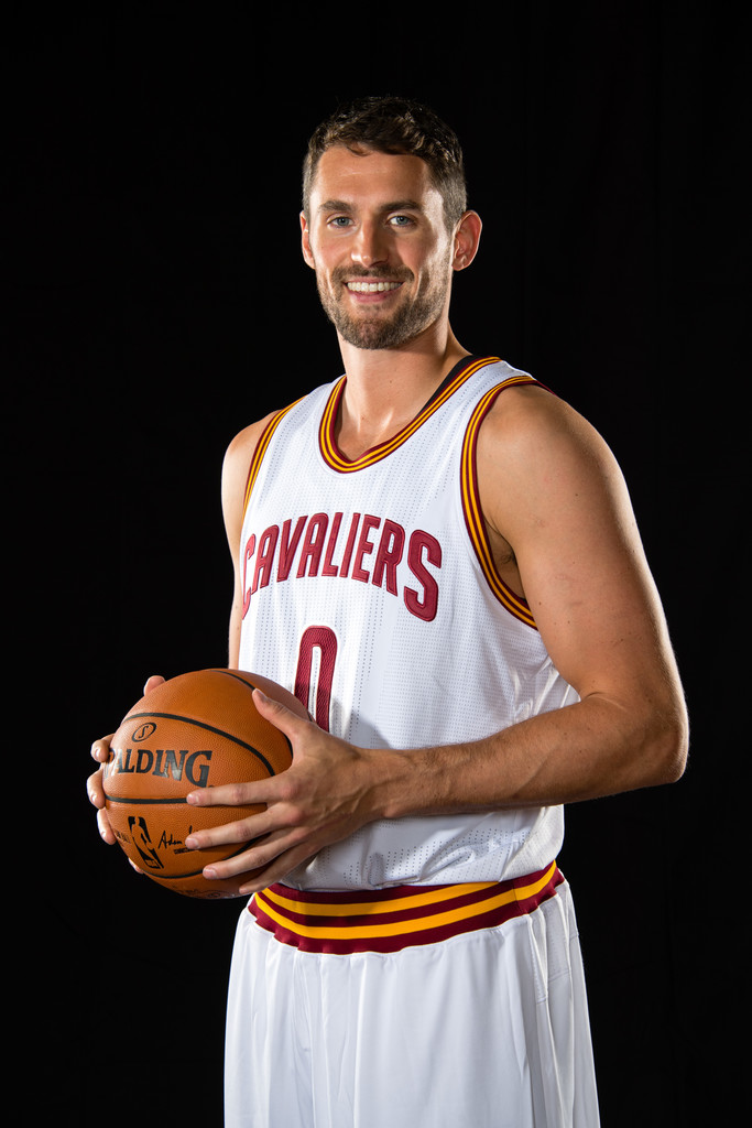 kevin love photos photos cleveland cavaliers media day