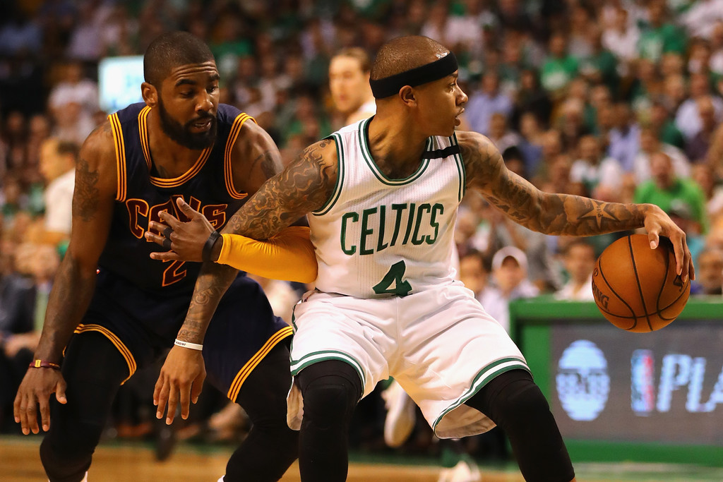 171fdd867d21 Kyrie Irving Photos - Cleveland Cavaliers v Boston Celtics - Game ...