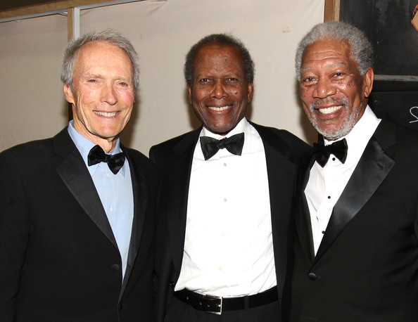 Clint Eastwood Morgan Freeman Photos Photos - 39th AFI ...