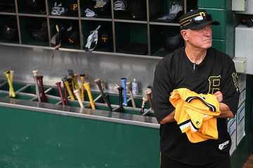 Clint Hurdle Milwaukee Brewers vs. Pittsburgh Pirates