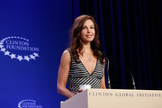 Ashley Judd attends the Breakout Session: The Economic Implications of Gender-Based Violence during the first day of the 2015 Clinton Global Initiative's Annual Meeting at the Sheraton New York Hotel & Towers on September 26, 2015 in New York City.