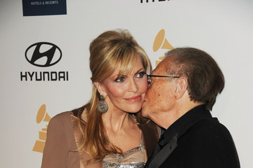 Larry King Clive Davis And The Recording Academy's 2012 Pre-GRAMMY Gala And Salute To Industry Icons Honoring Richard Branson - Arrivals