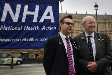 Clive Peedell Launch Of The National Health Action Political Party Whose Aim Is To Save The NHS