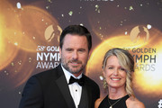 Charles Esten and Patty Hanson attend the closing ceremony and Golden Nymph awards of the 58th Monte Carlo TV Festival on June 19, 2018 in Monte-Carlo, Monaco.
