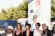 Fruit Chan, Alix Delaporte, Paz Vega, Anita Caprioli and Jonathan Demme attend the closing ceremony and premiere of 'Lao Pao Er' during the 72nd Venice Film Festival on September 12, 2015 in Venice, Italy.