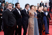 "Official Jury Members Guillermo del Toro, Jake Gyllenhaal, Joel Coen, Sophie Marceau, Sienna Miller, Xavier dolan,Rossy de Palma,  Rokia Traore and Ethan Coen attend the closing ceremony and Premiere of ""La Glace Et Le Ciel"" (""Ice And The Sky"") during the 68th annual Cannes Film Festival on May 24, 2015 in Cannes, France."