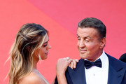 """Sistine Rose Stallone and Sylvester Stallone  attend the closing ceremony screening of """"The Specials"""" during the 72nd annual Cannes Film Festival on May 25, 2019 in Cannes, France."""
