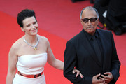 Juliette Binoche and Abbas Kiarostami Photos Photo