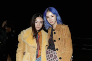 Designer Yoyo Cao and Irene Kim attend Coach Spring 2018 fashion show during New York Fashion Week at Basketball City - Pier 36 - South Street on September 12, 2017 in New York City.