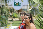 Hailee Lautenbach and Margaux Brooke attend the Sunshine Squad Brunch by Dole Packaged Foods at Ritz Carlton Rancho Mirage on April 17, 2016 in Rancho Mirage, California.