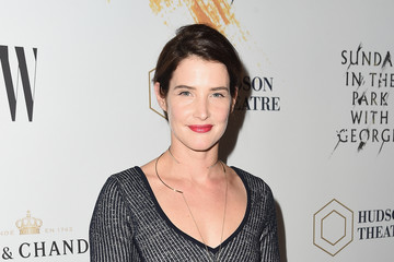 Cobie Smulders Moet & Chandon Celebrates The Hudson Theatre Reopening With Jake Gyllenhaal & Annaleigh Ashford