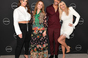 """Cocktails And A Conversation With The Stars Of Lifetime's """"American Beauty Star"""" Featuring Host And Executive Producer Ashley Graham, Mentor Sir John And Judges Christie Brinkley And Leah Wyar"""