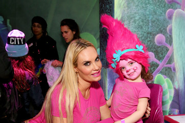 Coco DreamWorks' 'Trolls: The Experience' Rainbow Carpet Grand Opening In New York City