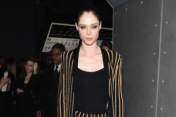 Coco Rocha BALMAIN X H&M Collection Launch - Party