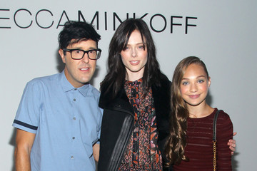 Coco Rocha Andrew Bevan TRESemme at Rebecca Minkoff Runway Show SS 16 - Backstage