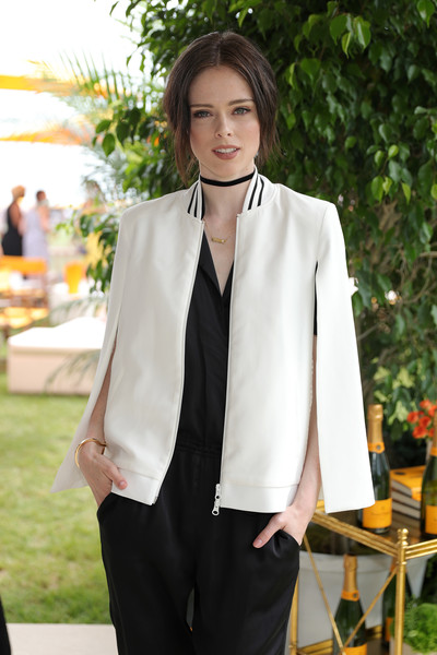 The Ninth Annual Veuve Clicquot Polo Classic - VIP [clothing,white,suit,formal wear,outerwear,blazer,fashion,tuxedo,street fashion,jacket,coco rocha,jersey city,new jersey,liberty state park,ninth,vip,veuve clicquot polo classic]