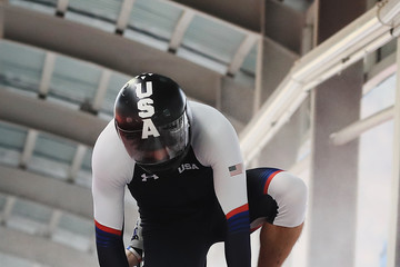 Codie Bascue Bobsleigh - Winter Olympics Day 15