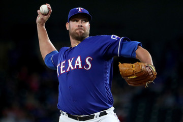 Colby Lewis Tampa Bay Rays v Texas Rangers