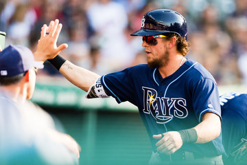 Colby Rasmus Tampa Bay Rays v Cleveland Indians