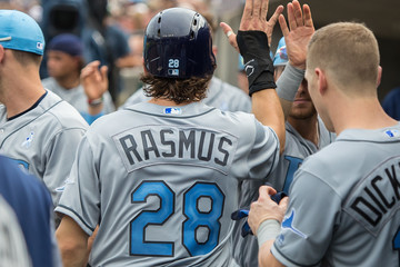Colby Rasmus Tampa Bay Rays v Detroit Tigers