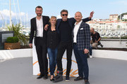 "(L-R) Actor Tomasz Kot, actress Joanna Kulig, director Pawel Pawlikowski and actor Borys Szyc attend the photocall for ""Cold War (Zimna Wojna)"" during the 71st annual Cannes Film Festival at Palais des Festivals on May 11, 2018 in Cannes, France."