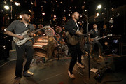 Coldplay Performs at Inaugural RADIO.COM Live Event Series During Grand Opening Of HD Radio Sound Space at Entercom Los Angeles on January 17, 2020 in Los Angeles, California.