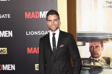 Colin Egglesfield AMC Celebrates 'Mad Men' With The Black & Red Ball - Arrivals