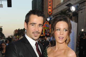 """Colin Farrell Kate Beckinsale Premiere Of Columbia Pictures' """"Total Recall"""" - Red Carpet"""
