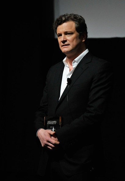 "Colin Firth Actor Colin Firth with his Variety ""International Star of the Year"" Award during day two of the 7th Annual Dubai International Film Festival held at the Madinat Jumeriah Complex on December 13, 2010 in Dubai, United Arab Emirates."