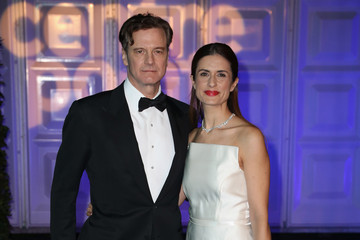 Colin Firth Arrivals at the Winter Whites Gala in London