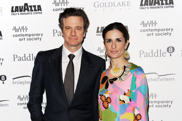 Colin Firth Contemporary Art Society Fundraising Gala