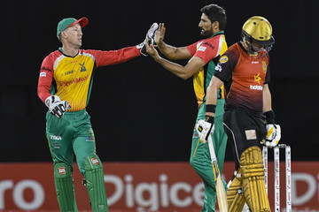 Colin Munro Guyana Amazon Warriors vs. Trinbago Knight Riders - 2018 Hero Caribbean Premier League (CPL) Tournament
