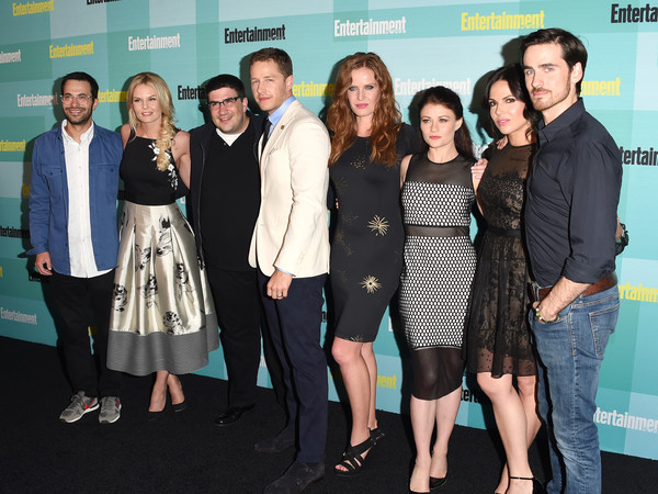 Entertainment Weekly Hosts its Annual Comic-Con Party at FLOAT at the Hard Rock Hotel [entertainment weekly hosts,event,premiere,fashion,little black dress,carpet,white-collar worker,smile,edward kitsis,adam horowitz,jennifer morrison,writer,writer,actors,float,hard rock hotel,comic-con party]