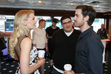 Colin O'Donoghue Adam Horowitz The Nintendo Lounge on the TV Guide Magazine Yacht at Comic-Con International 2015