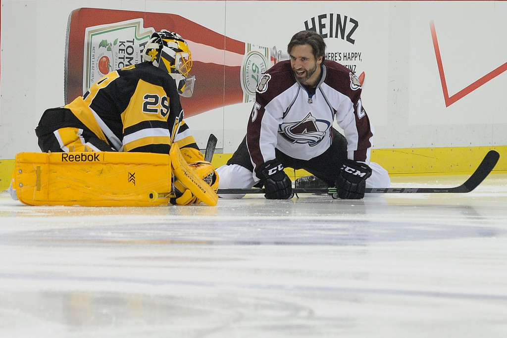 Maxime Talbot and Marc-Andre Fleury Photos Photos - Zimbio