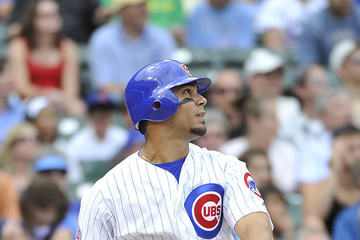 Carlos Pe–a Colorado Rockies v Chicago Cubs