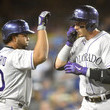 Troy Tulowitzki and Wilin Rosario Photos