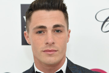 Colton Haynes Arrivals at the Elton John AIDS Foundation Oscars Viewing Party — Part 3