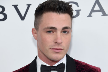 Colton Haynes 25th Annual Elton John AIDS Foundation's Oscar Viewing Party - Red Carpet