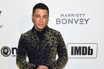 Colton Haynes Marriott Bonvoy Moments At The 27th Annual Elton John AIDS Foundation Academy Awards Viewing Party Celebrating EJAF And The 91st Academy Awards - Arrivals