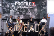 Buzzfeed Conversation with Jordan Peele, Lupita Nyong'o and Winston Duke on the upcoming Universal Pictures film 'US' at Comcast NBCUniversal House at SXSW during the Comcast NBCUniversal House at SXSW on March 9, 2019 in Austin, Texas.