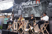 Buzzfeed Conversation with Jordan Peele, Lupita Nyong'o and Winston Duke on the upcoming Universal Pictures film 'US' at Comcast NBCUniversal House at SXSW on March 9, 2019 in Austin, Texas.