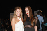 Stassi Schroeder (L) and Kate Maloney attend Comedy Central's Emmys Party at The Highlight Room at the Dream Hotel on September 16, 2018 in Hollywood, California.