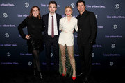 (L-R) Molly Shannon, Drew Tarver, Heléne Yorke, and Ken Marino attend Comedy Central's 'The Other Two' series premiere party at Dream Hotel Downtown on January 17, 2019 in New York City.