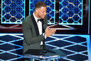 Blake Griffin speaks onstage during the Comedy Central Roast of Alec Baldwin at Saban Theatre on September 07, 2019 in Beverly Hills, California.