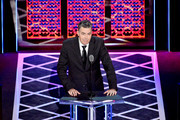 Adam Carolla speaks onstage during the Comedy Central Roast of Alec Baldwin at Saban Theatre on September 07, 2019 in Beverly Hills, California.