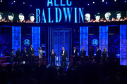 Paul Anka and Alec Baldwin (C) perform during the Comedy Central Roast of Alec Baldwin at Saban Theatre on September 07, 2019 in Beverly Hills, California.